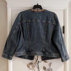 Tahari Jackets & Coats - Tahari Womens Denim Jacket